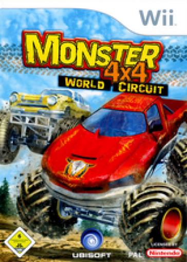 Nintendo Wii jeu - Monster 4x4: World Circuit UK dans l'emballage utilisé