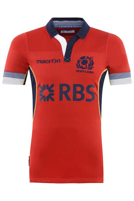 Scozia Maglia da Rugby Trasferta corpofit Slim- UK UK UK XL (Eu XXL) d5d