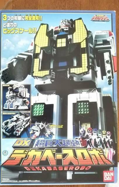 Bandai Power Rangers Tokusou Sentai Dekaranger DX Deka Base Robo Figure