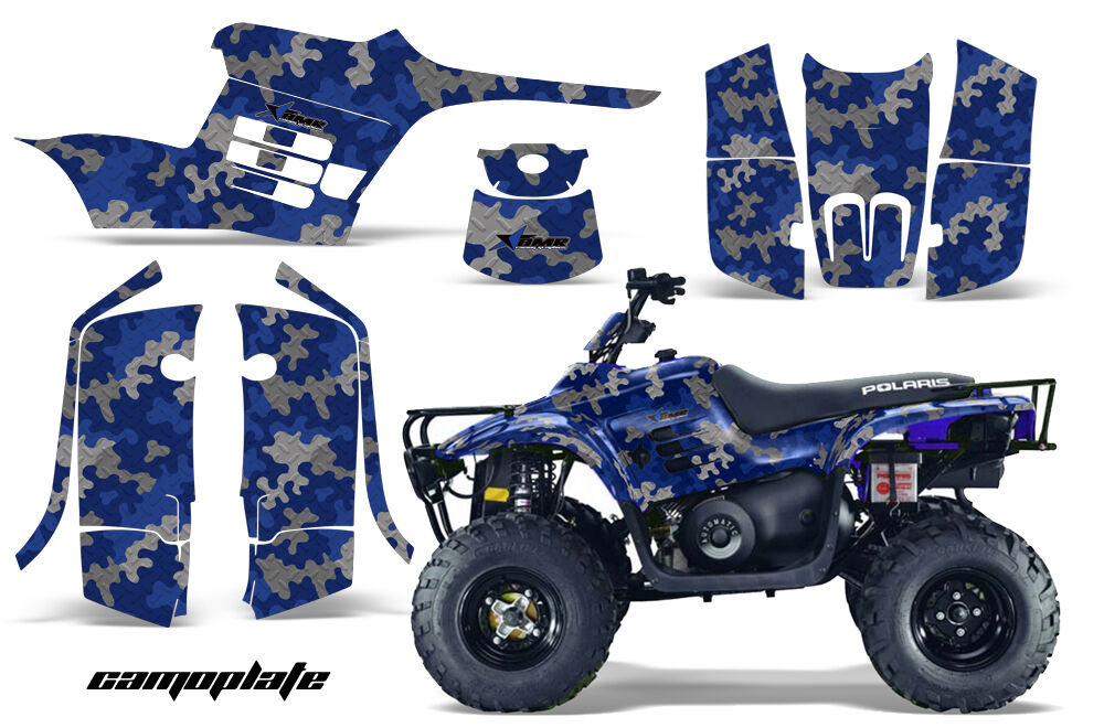 Atv Grafik Grafik Grafik Kit Sticker für Polaris Trail Boss 330 04-09 Camoplate & U 778e63
