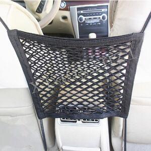 Seat Mesh Organizer Storage Net Between Car Seat Pocket