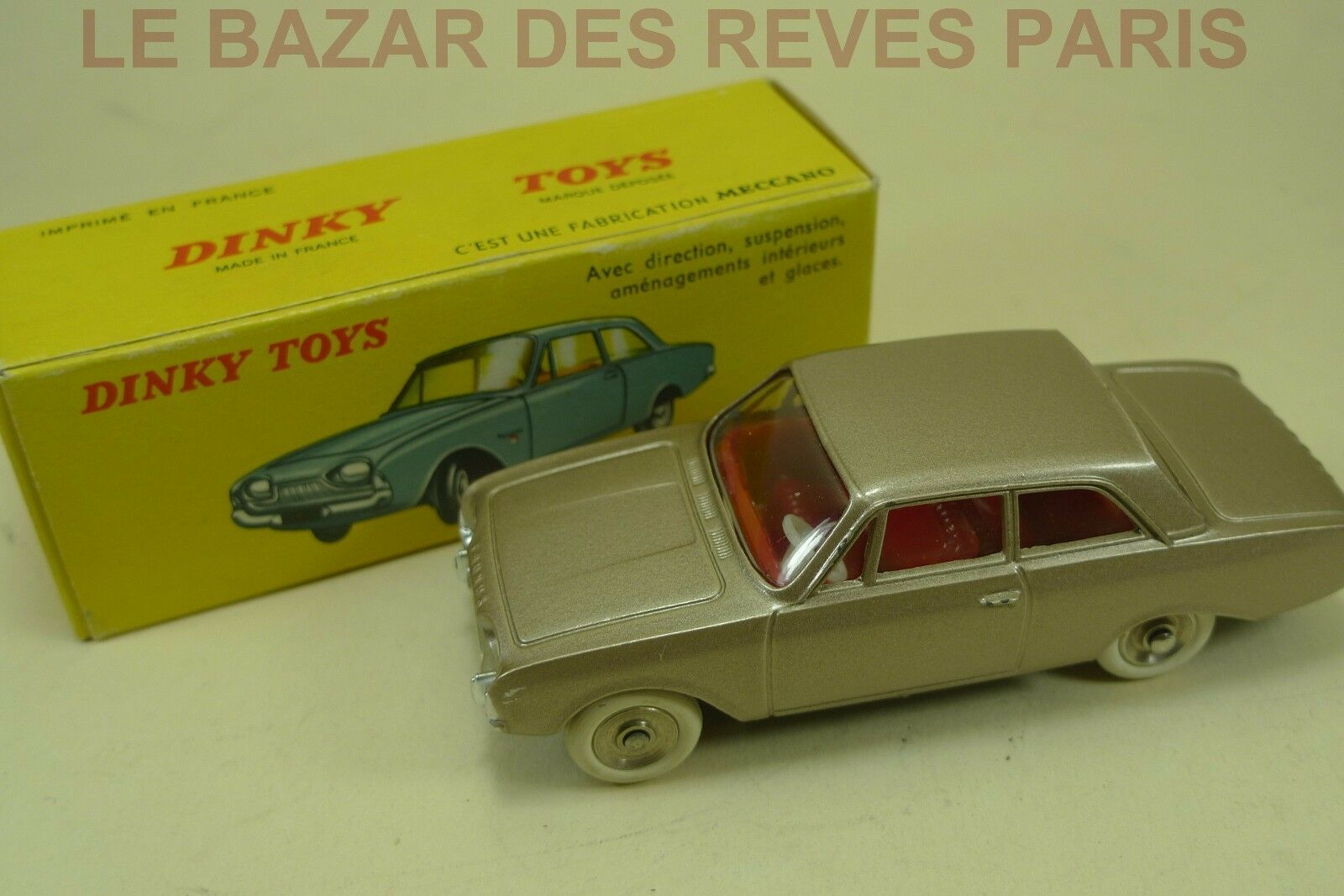 DINKY TOYS FRANCE.  FORD TAUNUS + + + Boite  REF: 559 192918