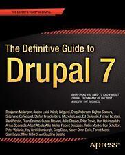 The Definitive Guide to Drupal 7, Gifford, Mike, Boyer, Sam, Dolin, Kasey, Schol