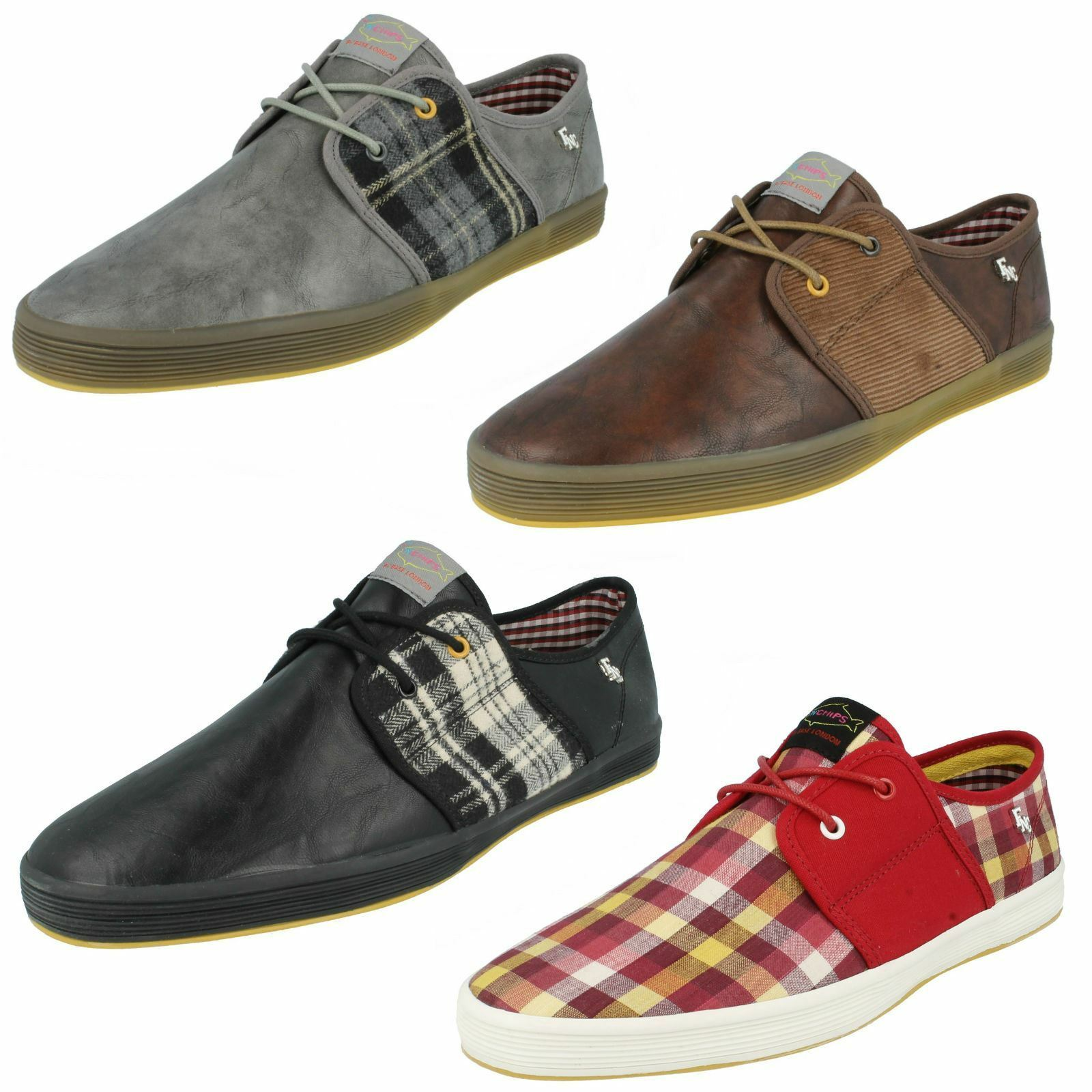 Mens Base Shoes London Fish 'N Chips Shoes Base Style - Spam 2 db9431