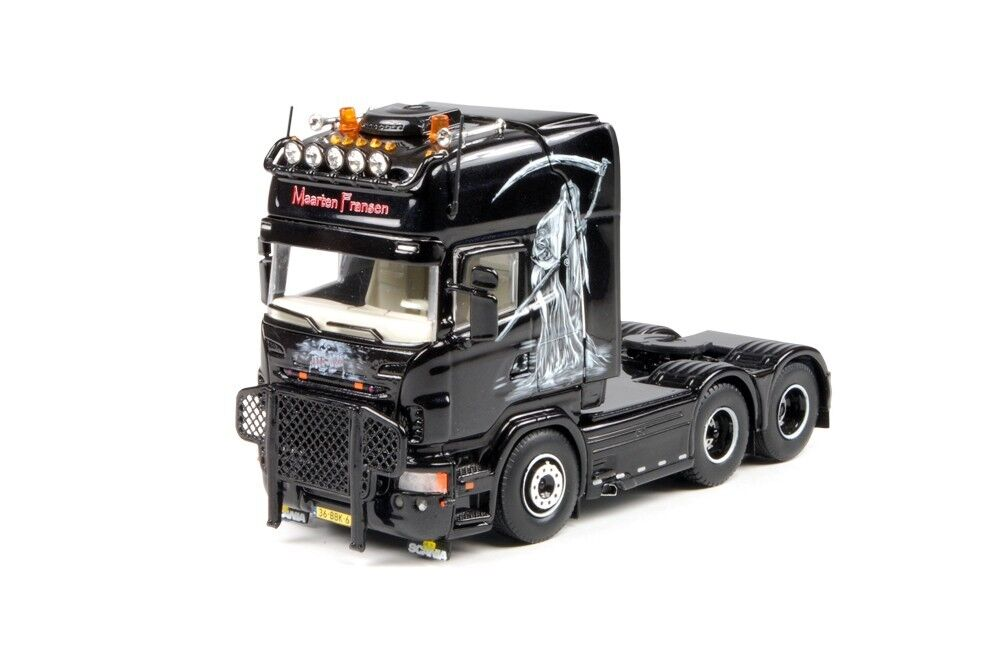 TEKNO 64995 SCANIA R TRACTEUR SOLO 6X2   BART FRANSEN   MINT IN BOX
