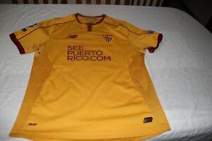 Camiseta Oficial Utillaje Jugador Sevilla Fc 2016 17 Champions 9 Vietto M Ebay