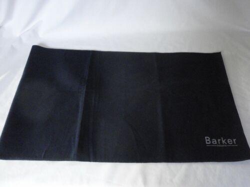 Nouveau Barker bleu foncé en coton brossé polissage chiffon//Poussière Papier Pour Chaussures