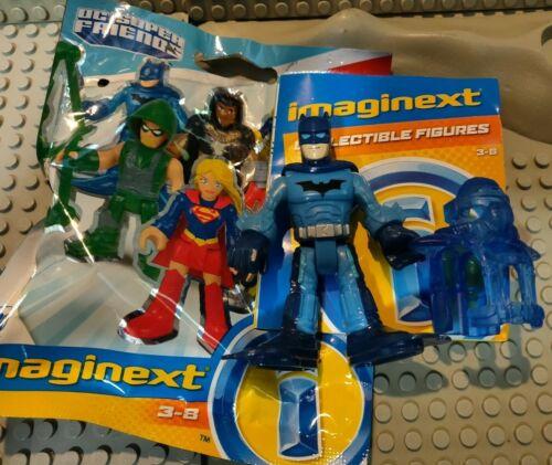 DC SUPER FRIENDS IMAGINEXT SERIES 5 SCUBA BATMAN BAG NEW SHARK REPELLENT 1966
