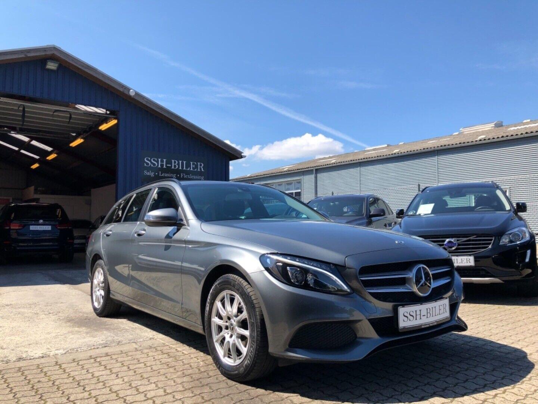 Mercedes C220 d 2,2 stc. aut. 5d - 1.727 kr.