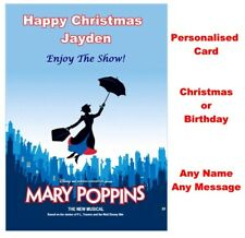 Christmas etc Personalised 42nd Street Musical Show Ticket Wallet Card Birthday