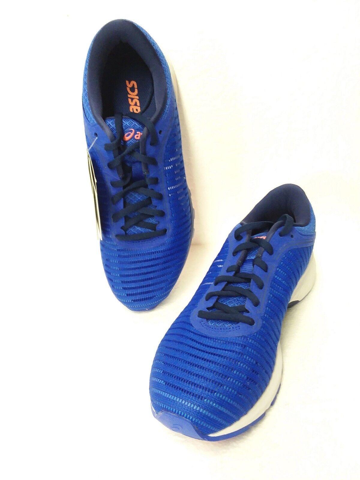 Damens' s Asics Dynaflyte 2 , Blau Purple / WEISS / Indigo Blau , Größe; 7.5