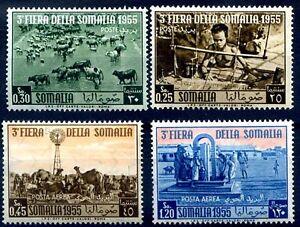 SOMALIA-AFIS-1955-3-FIERA-DELLA-SOMALIA-PO-PA-Serie-Nuova