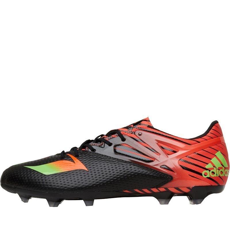 Adidas Messi 15.2 FG AG botas de fútbol, Negro Rojo, Reino Unido 8 UE 42,  .99