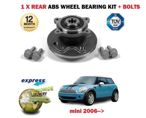 FOR BMW MINI ONE D COOPER S JCW R55 R56 R57 R58 2006-/> 1X REAR WHEEL BEARING KIT