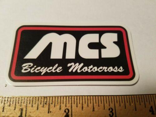 MCS BMX STICKER