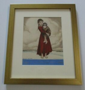 WILLY-POGANY-PAINTING-ORIGINAL-DESIGN-ILLUSTRATION-WPA-AMERICAN-STAMP-HUNGARIAN