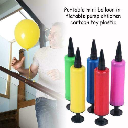 Party Hand Air Pump Balloon Swimming Ring Inflatable inflator /& Fast Easy H9A2