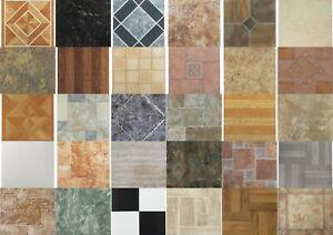 Details About Vinyl Floor Tiles Self Adhesive 20 Sq Ft Peel N Stick Flooring Set Home 20 Pack
