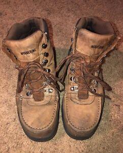 23fd2757662 Mens wolverine w04349 Potomac English Steel-Toe Work Boot 10M | eBay