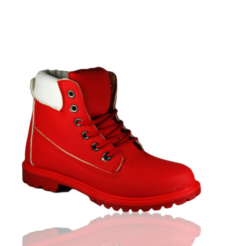 Womens Hiking Boots Ladies Ankle Desert Trail Combat Chelsea Walking Shoes Size