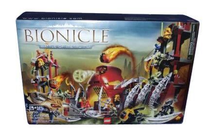 2 x Piece inclinée LEGO DkRed slope brick 3676 Set 8759 Battle of Metru Nui