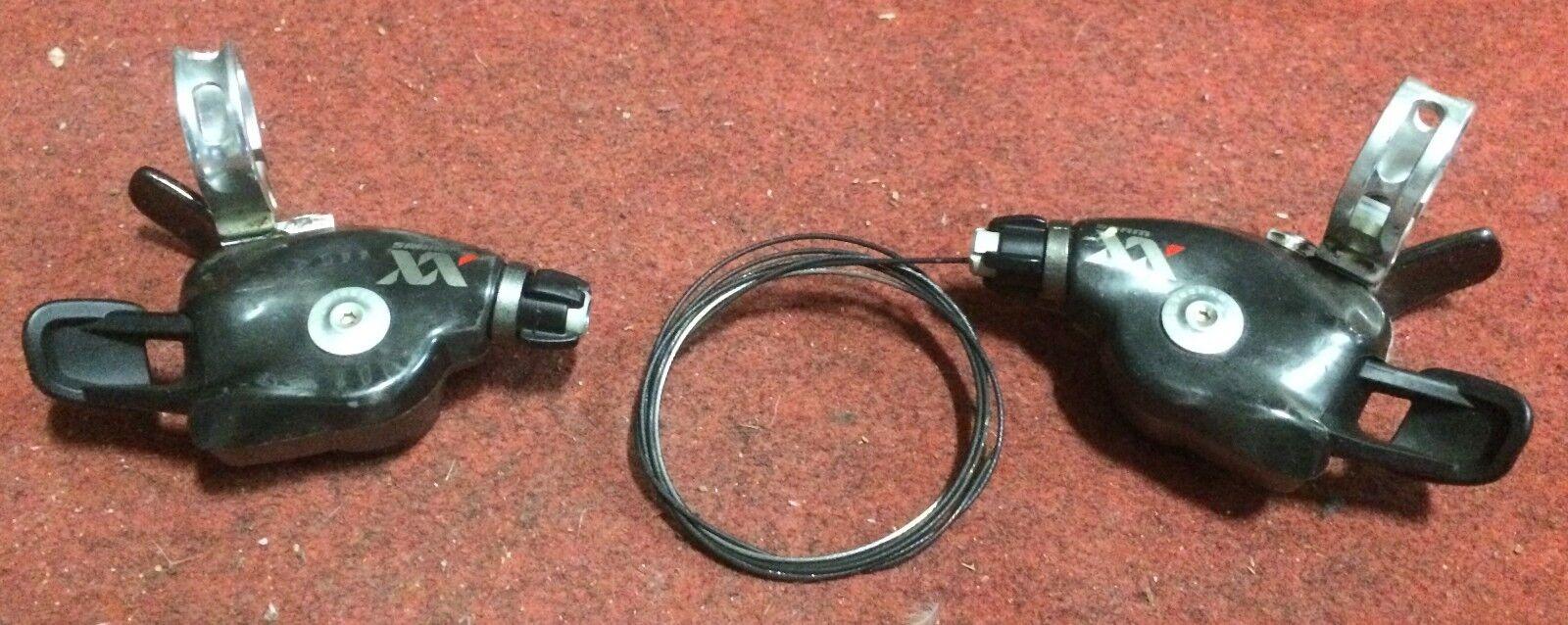 Comandi cambio bici Sram XX 10x2 trigger post ant mountain bike r f derailleur