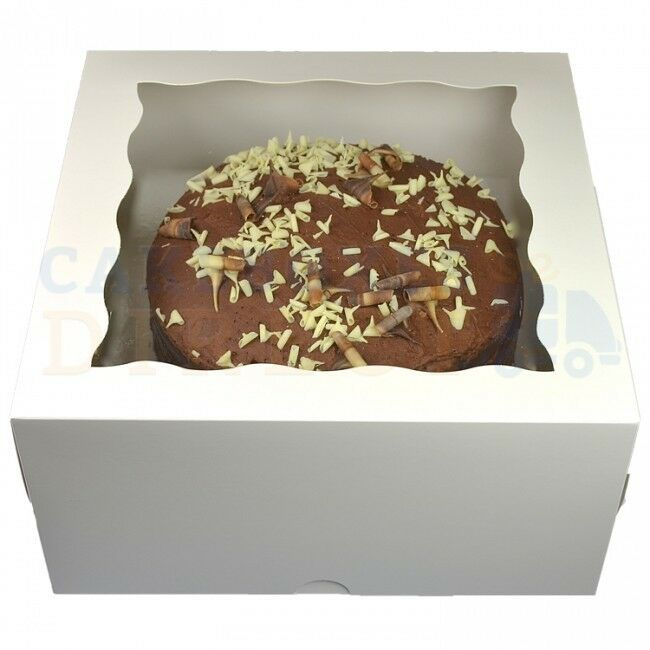 Weiß WINDOW GATEAUX BOXES CHEAPEST ON EBAY CHOOSE CHOOSE CHOOSE YOUR QUANTITY AND Größe 72eb5c