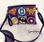 main Retro Messenger à Enveloppe Sac Pochette Superhero Punk Rivet Lady 0ZqTw