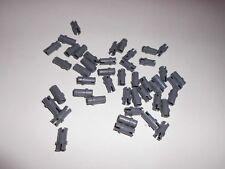 LEGO 20 x Pin kurz 3//4 Achsverbinder neu dunkelgrau 32002