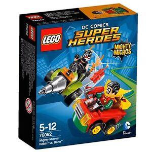 LEGO-76062-Mighty-Micros-Robin-contro-Bane-costruzioni-nuovo-PRONTA-CONSEGNA