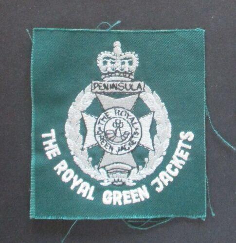 British Army THE ROYAL GREEN JACKETS blazer badge