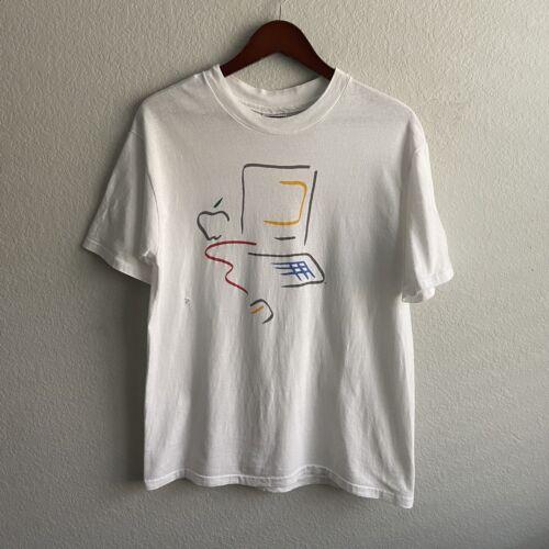 Vintage 90's Apple Macintosh Computer Picasso Shir