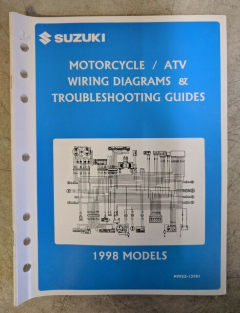 1998 Suzuki Motorcycle  Atv Wiring Diagrams Troubleshooting