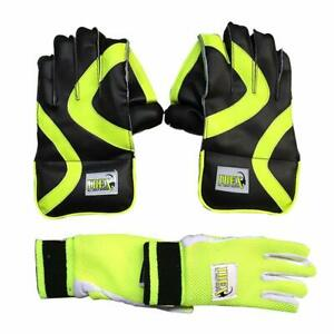 Cricket Keeping Gloves JetFire Inner Combo All Leather ...