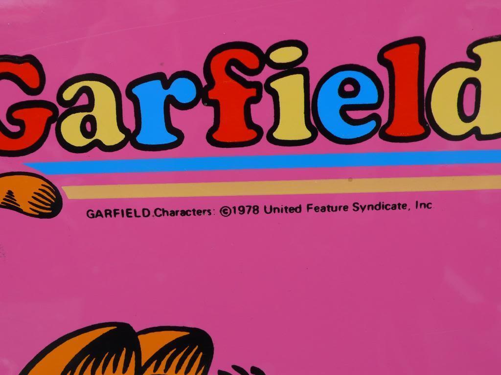 True Vintage Vintage Vintage 80er Garfield Koffer Spielkoffer Comic figur Jim Davis 80s suitcase | Bevorzugtes Material  | Deutsche Outlets  | Charmantes Design  ba2faa