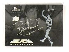 12-13 Upper Deck Exquisite UD Black Bill Laimbeer autograph auto #D63/99 *46607