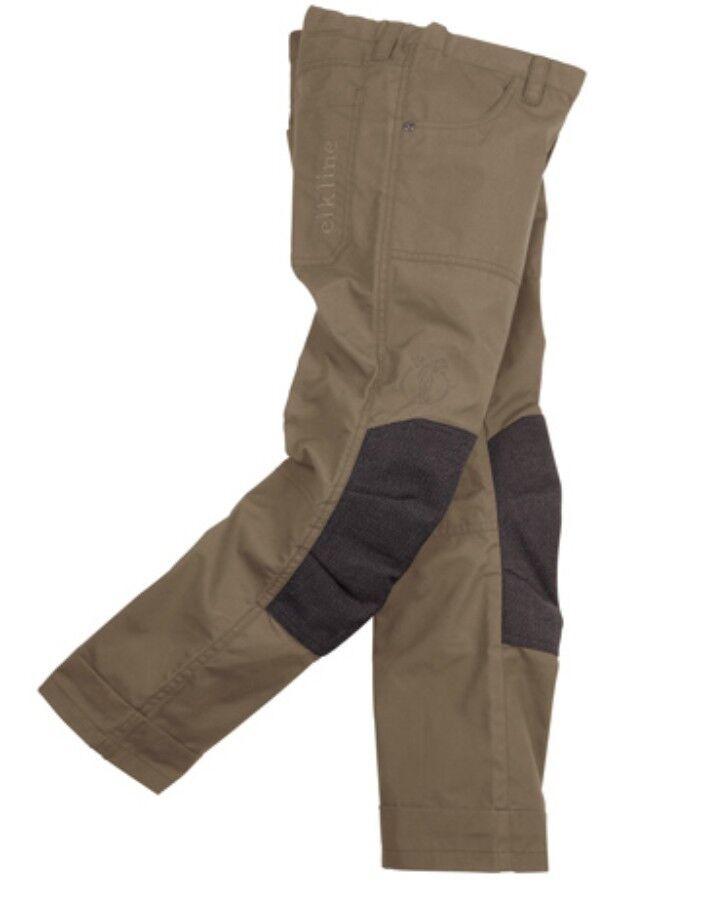 Elkline Waldmeister - - - robuste Outdoorhose für Kinder Jugendliche khaki 16bd92
