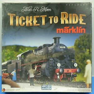 Marklin Ticket to Ride Board Game Replacement Parts Pieces Days of Wonder G230