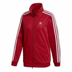 Dettagli su Adidas Originals Beckenbauer Tt Donna Felpa Tuta Giacca  Sportiva Bordeaux Rosso