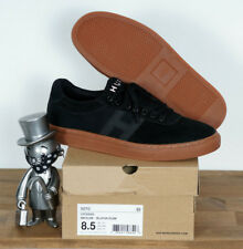 5 HUF worldwide Footwear skate zapatos Shoes Classic lo Black waxed canvas 11//44