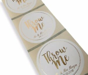 Pack Personalised Wedding Stickers//Labels Envelopes Seals Elements Pack Suitable