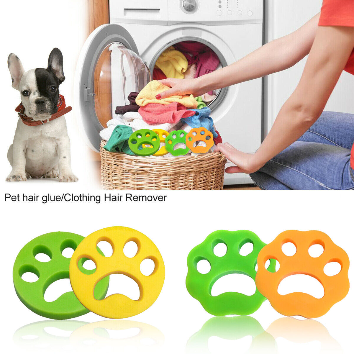 Details About 2 Pack Furzer Pet Dog Cat Hair Remover For Washing Laundry Washer Dryer Hot