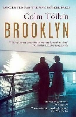 1 of 1 - Brooklyn by Colm Toibin [Paperback] LIKE NEW, FREE SHIPPING