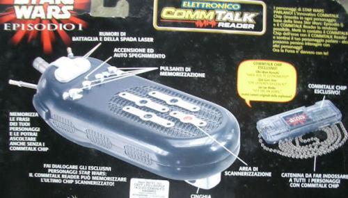 Star - wars - hasbro italien commtalk sound siena 1999