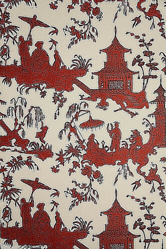"/""Jardin Chinois/"" by Waterhouse Wallhangings Vintage Wallpaper"
