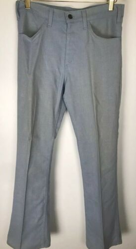 Vintage LEVI'S Big E Pants Flare Leg Talon 42 Zip