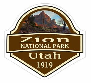 Zion-National-Park-Sticker-Decal-R1465-Utah-YOU-CHOOSE-SIZE