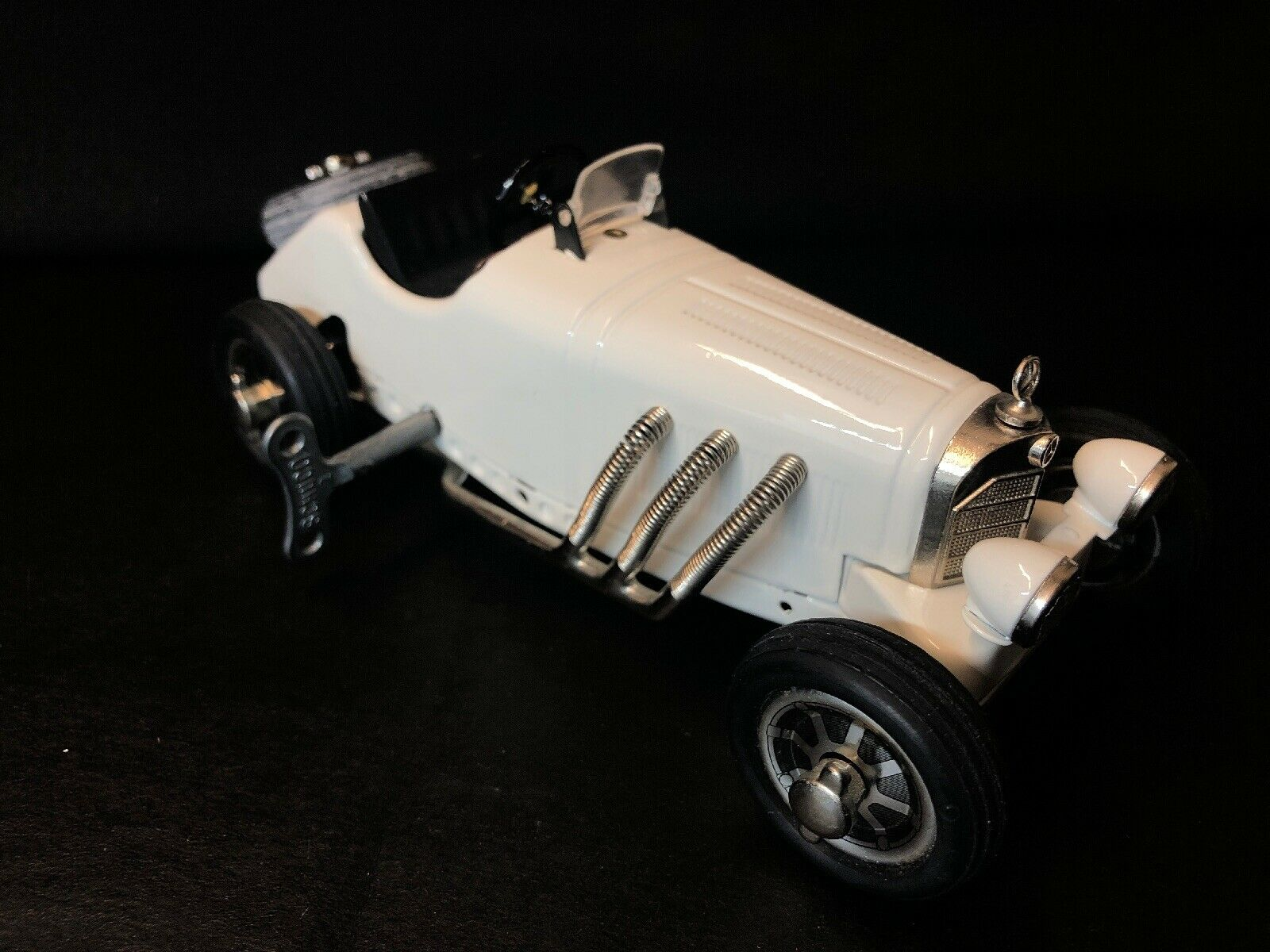 Schuco SSK L Studio V Mercedes-Benz Made In Germany White wind up with key