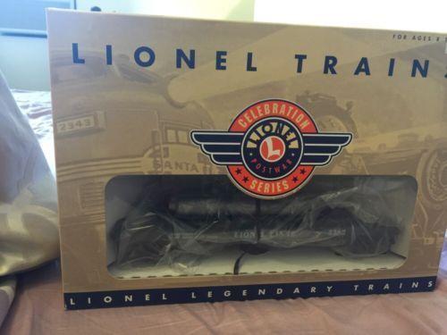 Lionel Trains 6-19878 Operating Helium Unloading Car Post War Celebration Series