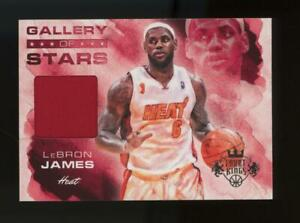 2011-Panini-Court-Kings-Gallery-of-Stars-LeBron-James-224-325-Game-Used-Jersey
